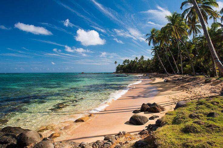 Yemaya Beach, Little Corn Island, Nicaragua.