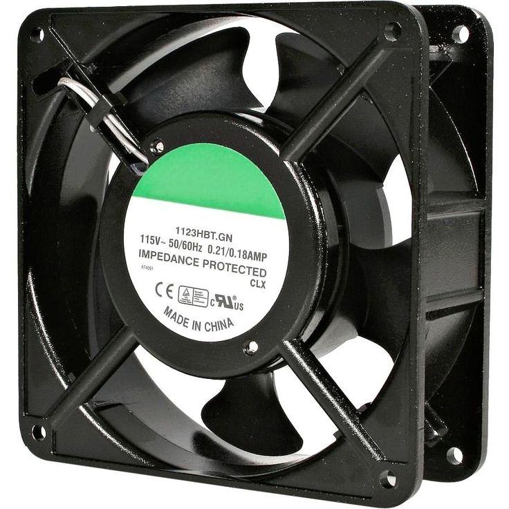 StarTech.com 12cm AC Fan Kit for Server Rack Cabinet
