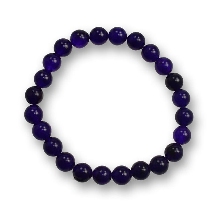 Purple Jade Gemstone Bracelet