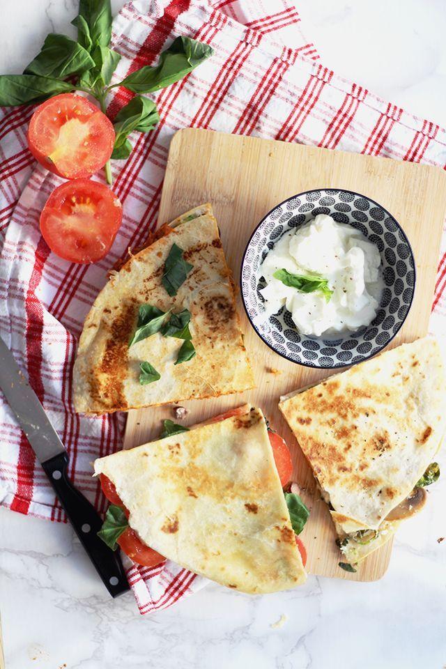 Easy & Yummy: Quesadillas – 3 vegetarische Variationen