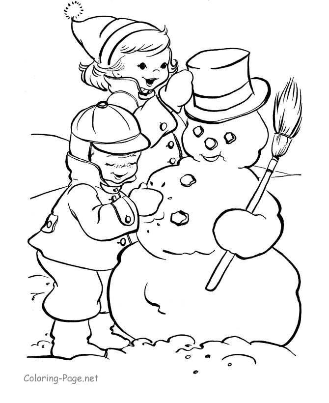 19 best Christmas vintage coloring page images on ...