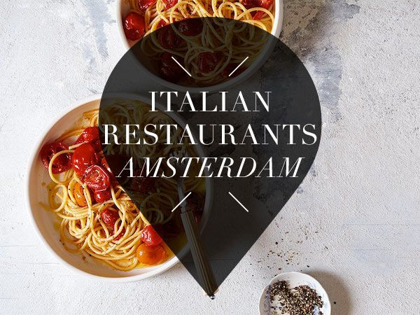Do you love Italian food? Then this list with 14 of the best Italian restaurants in Amsterdam is a must read! Discover the best Italian food here
