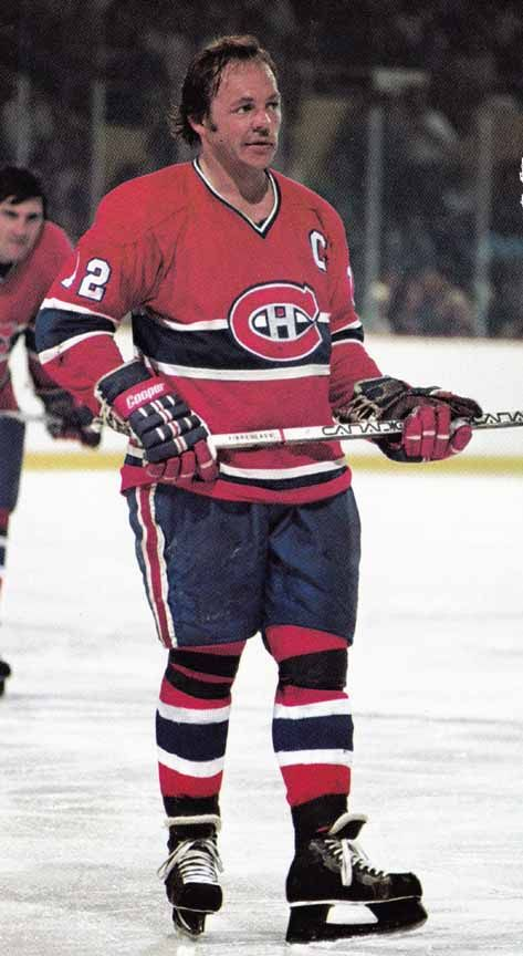 Yvan Cournoyer - Montreal Canadiens The Road Runner
