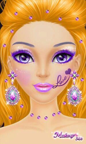 13 best Libii game images on Pinterest | Make up, Makeup salon and ...