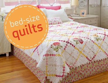 http://www.allpeoplequilt.com/projects-ideas/bed-quilts/index.html