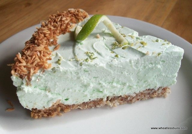 Lime Coconut Cheesecake Shared on https://www.facebook.com/LowCarbZen | #LowCarb #Dessert #Cheesecake