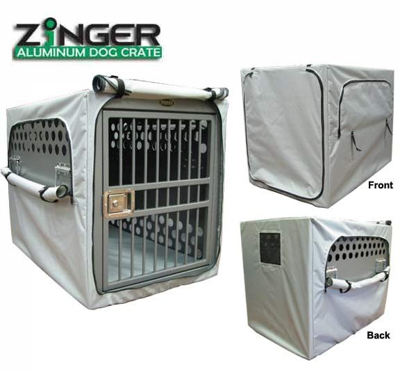 Zinger Winger Aluminum Collapsible Dog Crate