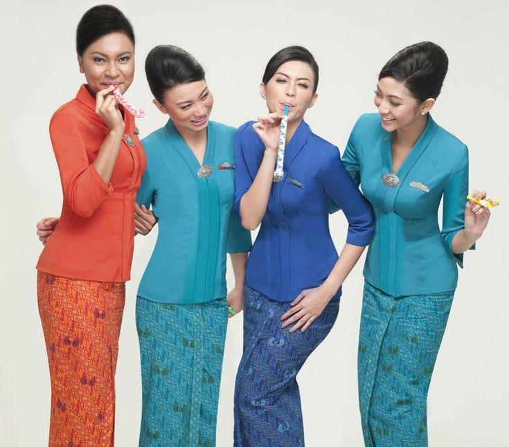 Garuda Indonesia Stewardess #looksgreat