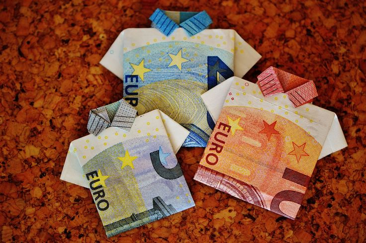 #10 euro #20 euro #5 euro #bank note #cash and cash equivalents #currency #euro #folded #folding technique #gift #money #reserve #the last shirt
