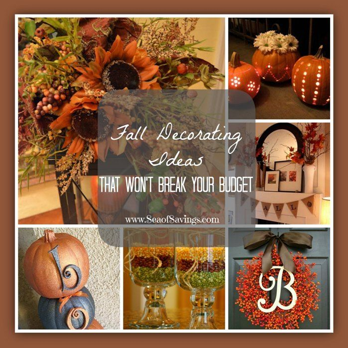 Fall Decorating Ideas!
