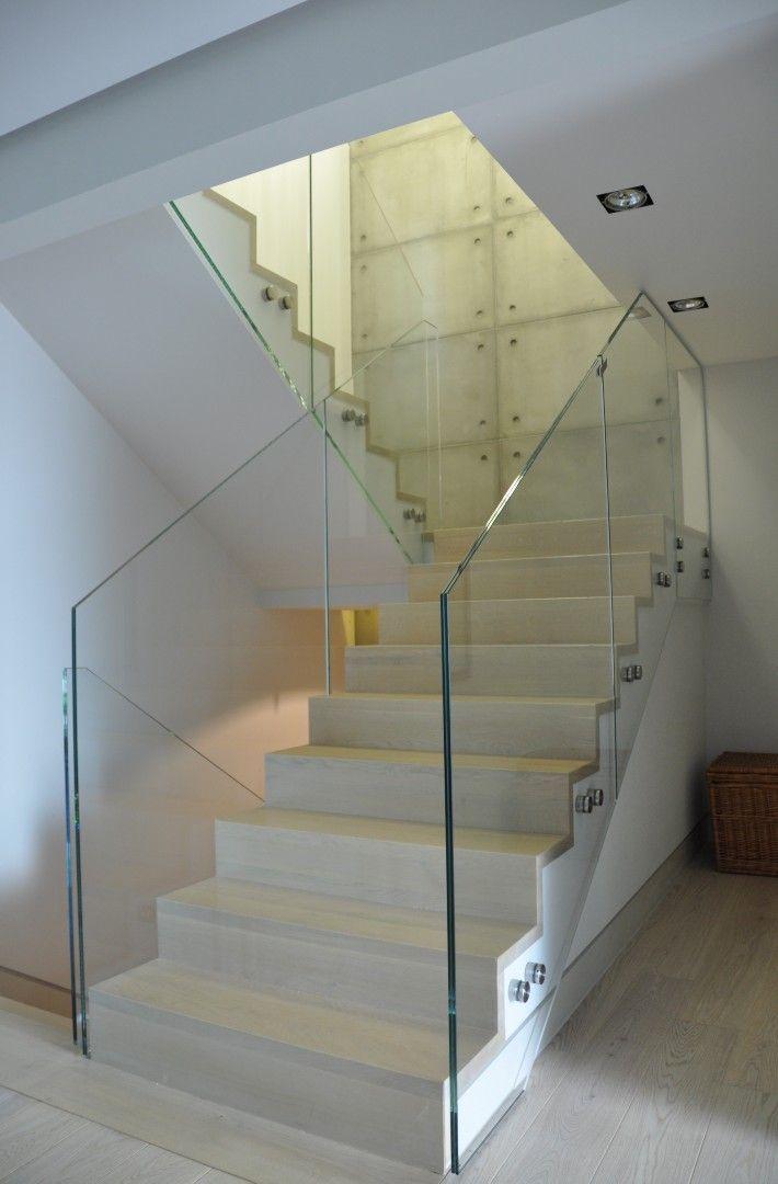 Apartament Poznań - Balustrady szklane Produkt Stadip Protect