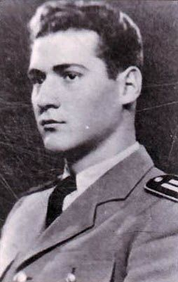 2nd. Lt. Mihaly Karatsony, WWII Hungarian ace with 5 victories.