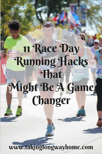 Taking the Long Way Home: 11 Race Day Running Hacks That Might Be a Game Changer.