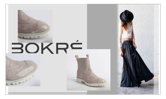 Woman Leather Chelsea Boots by Bokre by Bokre on Etsy