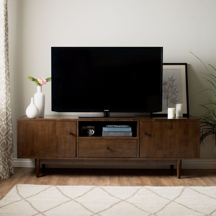 Lawrence Brown Rubberwood Entertainment Center By I Love Living
