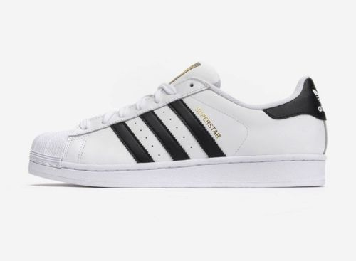 Mens Adidas Superstar Adidas Originals White Black C77124