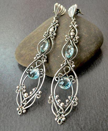 Anahera Angel Earrings