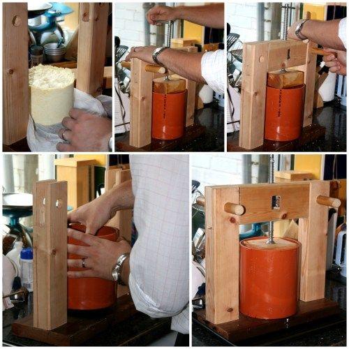 Homemade cheese press (Cheese Making Equipment)