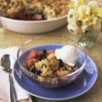 Blueberry Buckle Recipe with Cinnamon