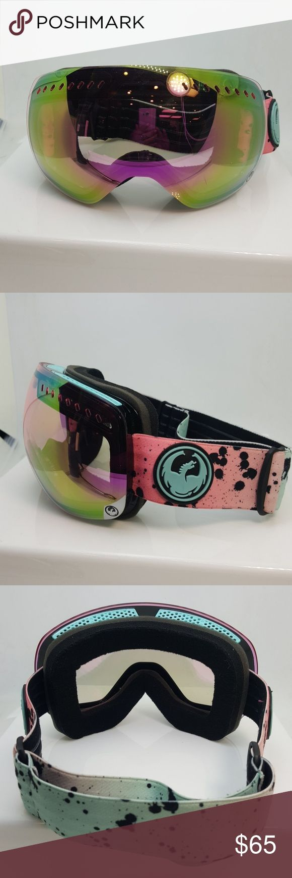 Dragon alliance womans ski goggles Dragon alliance womans ski goggles comes with a case and carrying bag, and extra lens Dragon alliance  Accessories Sunglasses