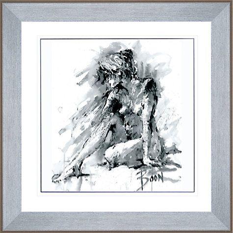 Joanne boon thomas figurative study 1 framed print 91 x 91cm framed printsjohn lewisfigurative artart