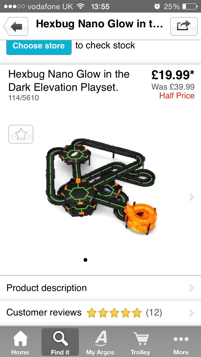 Hex Bug Nano Elevation Play Set