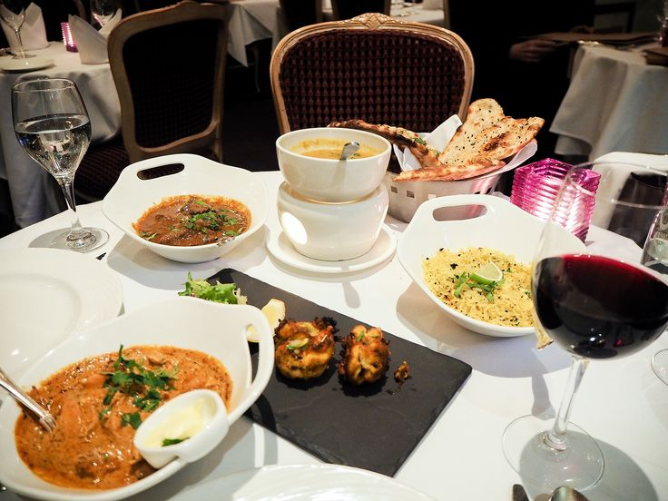 When you first think of Indian food in London, what comes to mind? It's probably not crisp white table linen, fragrant sparkling wine and fine dining.