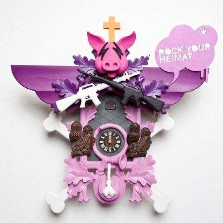 Contemporary Cuckoo Clocks by Stefan Strumbel