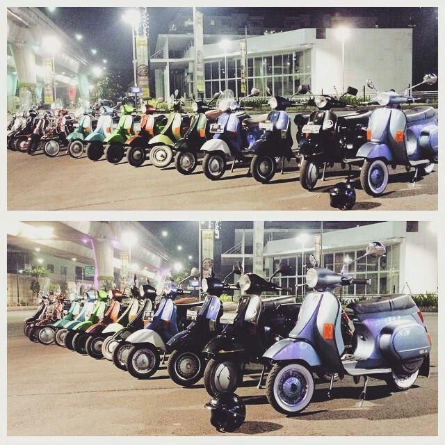 Viva La Corsa, Vespa PK125 #vespa #PK125 #Indonesia
