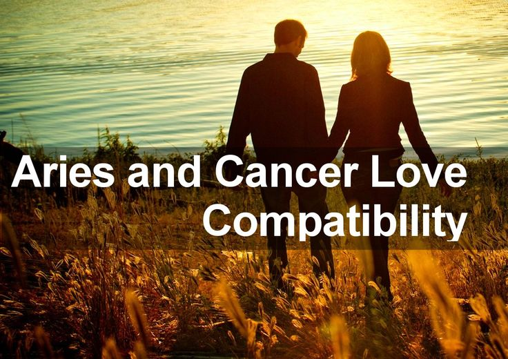 5 Reasons The Aries-Cancer Relationship Is Low-Key The Perfect Pairing