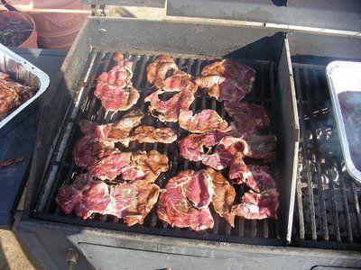 Low Maintenance Grilling for a Crowd | Rib-eye steak sandwiches
