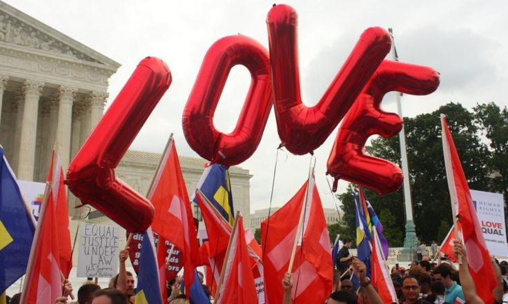 Yes! Gay marriage has been declared legal across the entirety of the US in a historic supreme court ruling. Time to step up Australia!