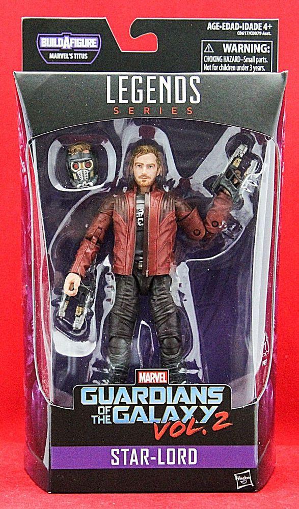 "Marvel Legends STAR-LORD Guardians of the Galaxy Vol. 2 6"" Figure BAF TITUS New #Hasbro"