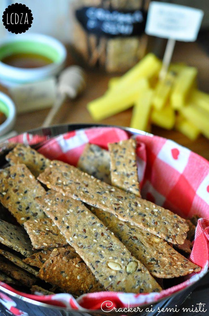 La cucina di zia Ale: Cracker ai semi misti