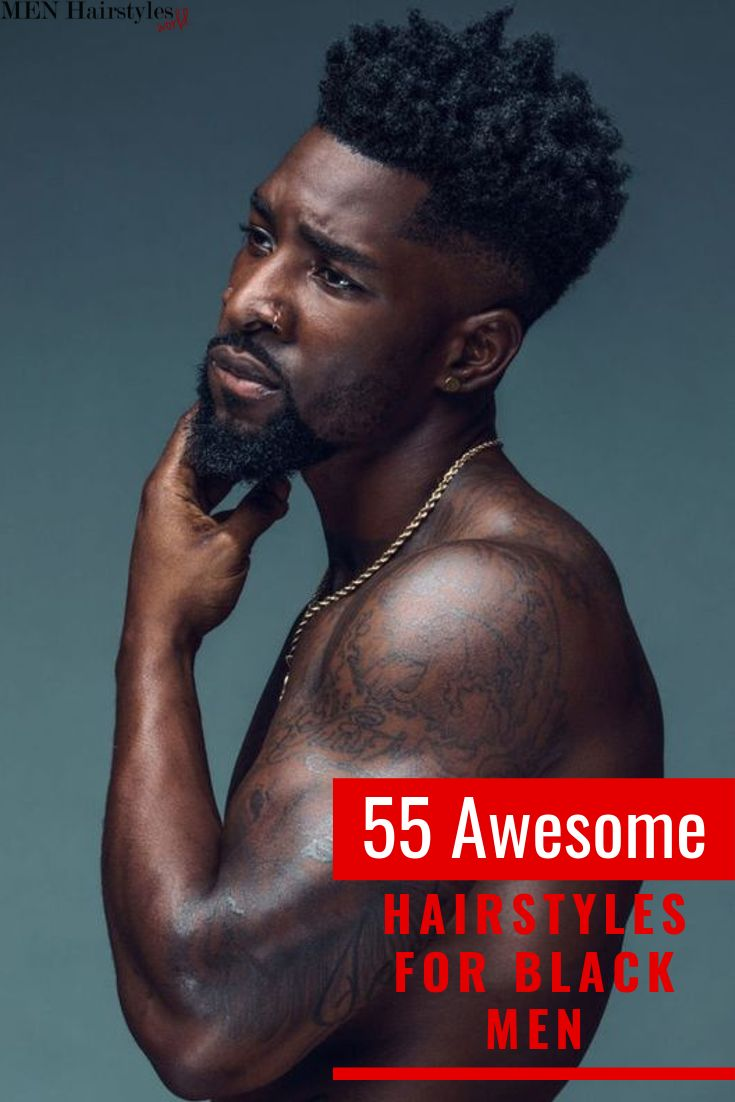 One of the advantages of having afro-textured hair is that you have tons of hair…   – Fades & Tapers