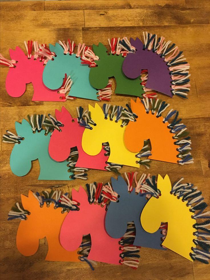 Synttärikutsut, 4-vuotias, hevoset, ponit, kutsukortit, invitation cards, horses, ponies, diy, 4th birthday