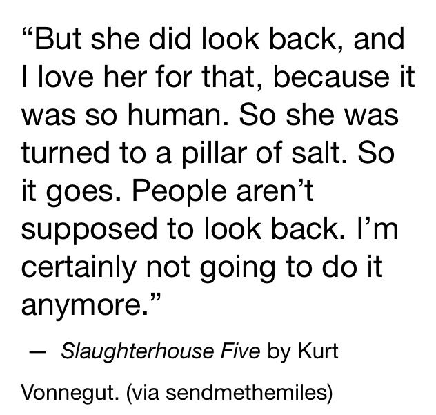 the philosophy of vonnegutism in slaughterhouse five by kurt vonnegut Vonnegut was tormented by this question and through billy pilgrim, the protagonist in slaughterhouse five, he attempts to reconcile the guilt which one feels when one is randomly saved from death, while one's friends and loved ones perish.