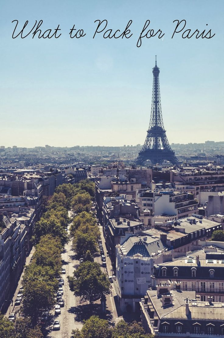 Paris Getaway: What to Pack and Wear in Paris - good reminders for if I ever go back