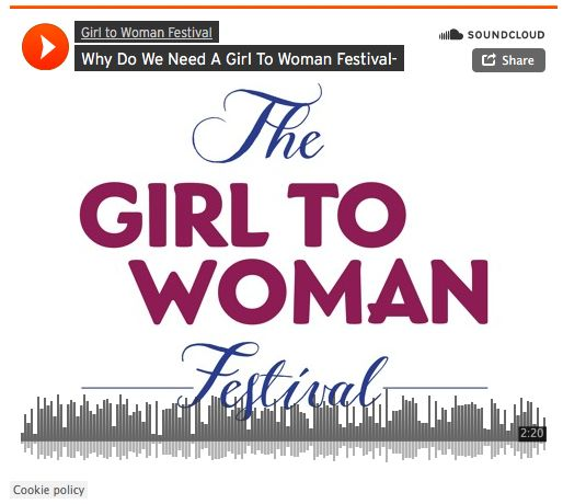 Teacher and Girl to Woman Festival Presenter, Kristy Wood, on why the festival is so needed.