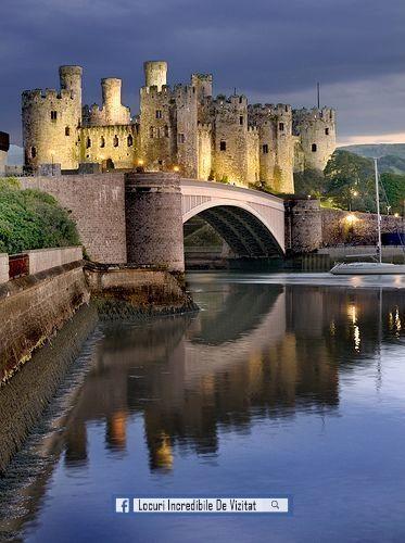 Castelul Conwy, Țara Galilor