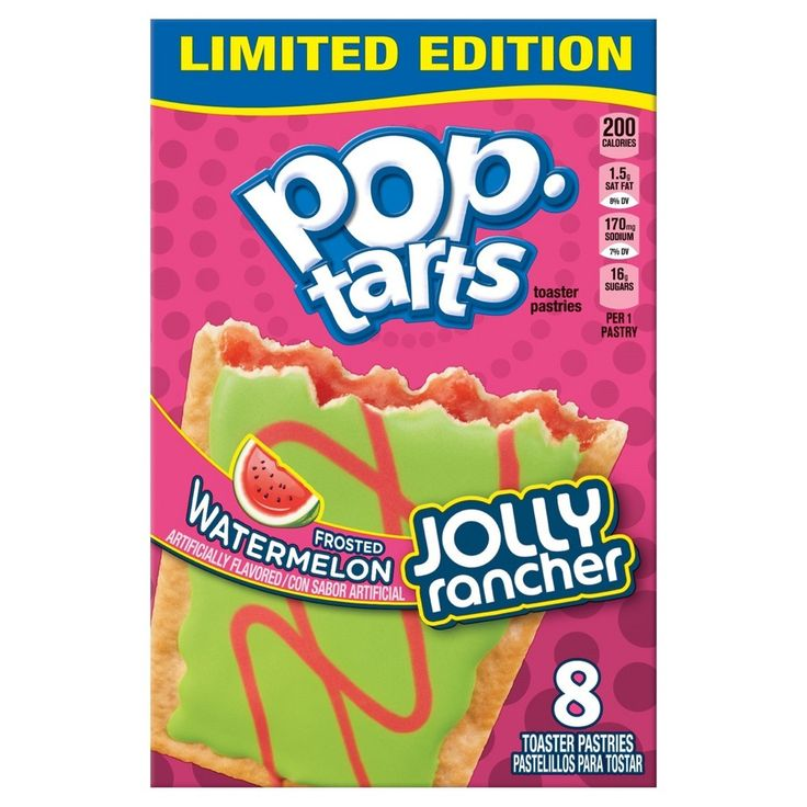 Pop Tarts Jolly Rancher Frosted Sour Green Apple - 14.1oz/8ct
