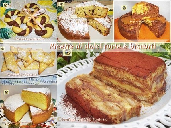 Ricette di dolci torte e biscotti