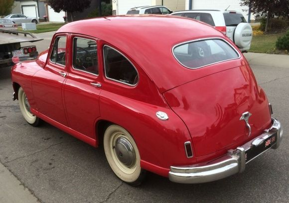 1951 Standard Vanguard Beetleback Rear