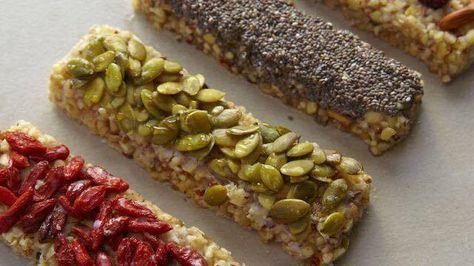 Barrinha de cereal caseira :: Nutricao para voce