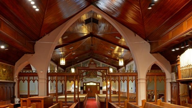 St. Jude's Anglican Church in Brantford, built in 1871, is up for sale with an asking price of $1.