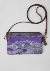 VIDA Statement Clutch - Blue Azaleas by VIDA