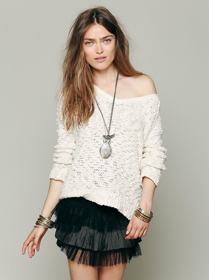 Free People FP ONE Ruffle Skirt at Free People Clothing Boutique