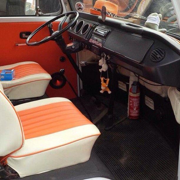 85 best interior kombi images on pinterest campers for Kombi van interior designs