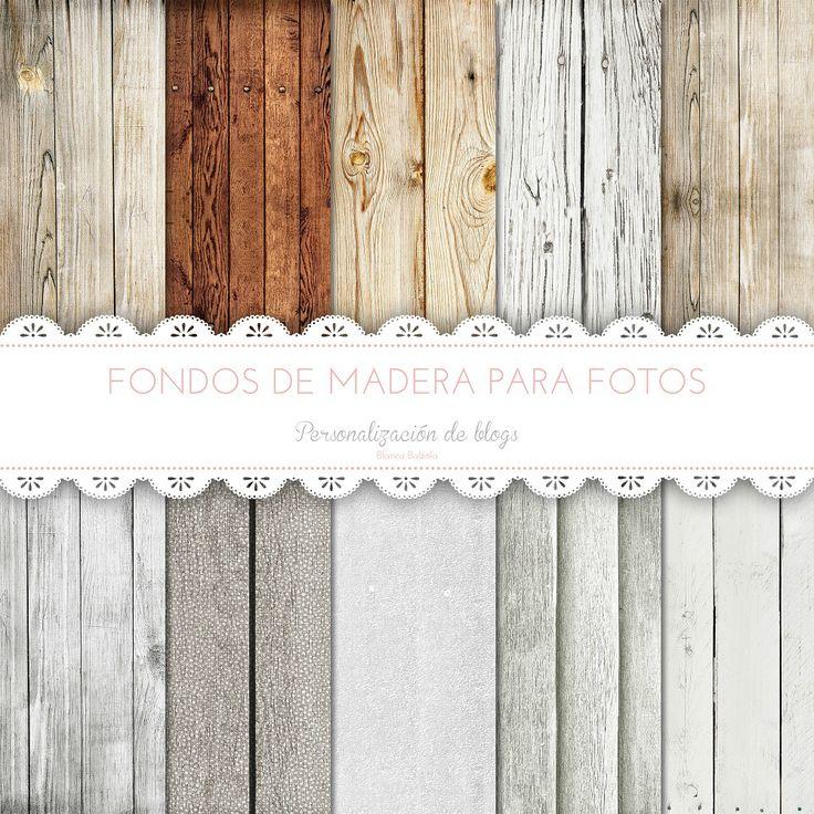 Printable wood backgrounds for pictures | Fondos de madera imprimibles gratis para fotos.