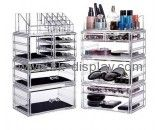 Customized plastic makeup organizer acrylic storage drawers cosmetic organizer case CO-218